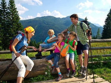 Family Hiking in Großarl