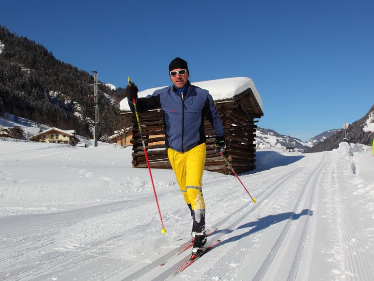 Cross country skiing in the Großarl valley