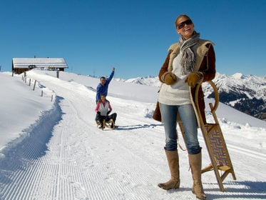Tobogganing in Grossarl