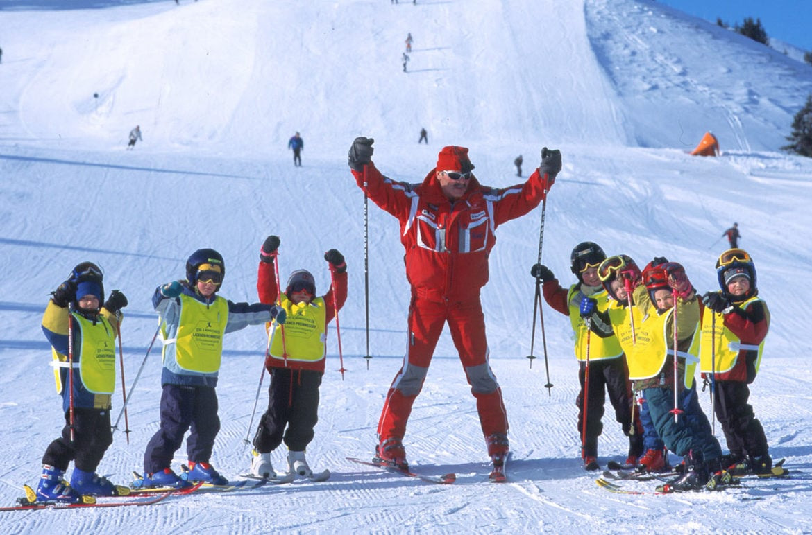 Kids Ski Courses Grossarl Valley