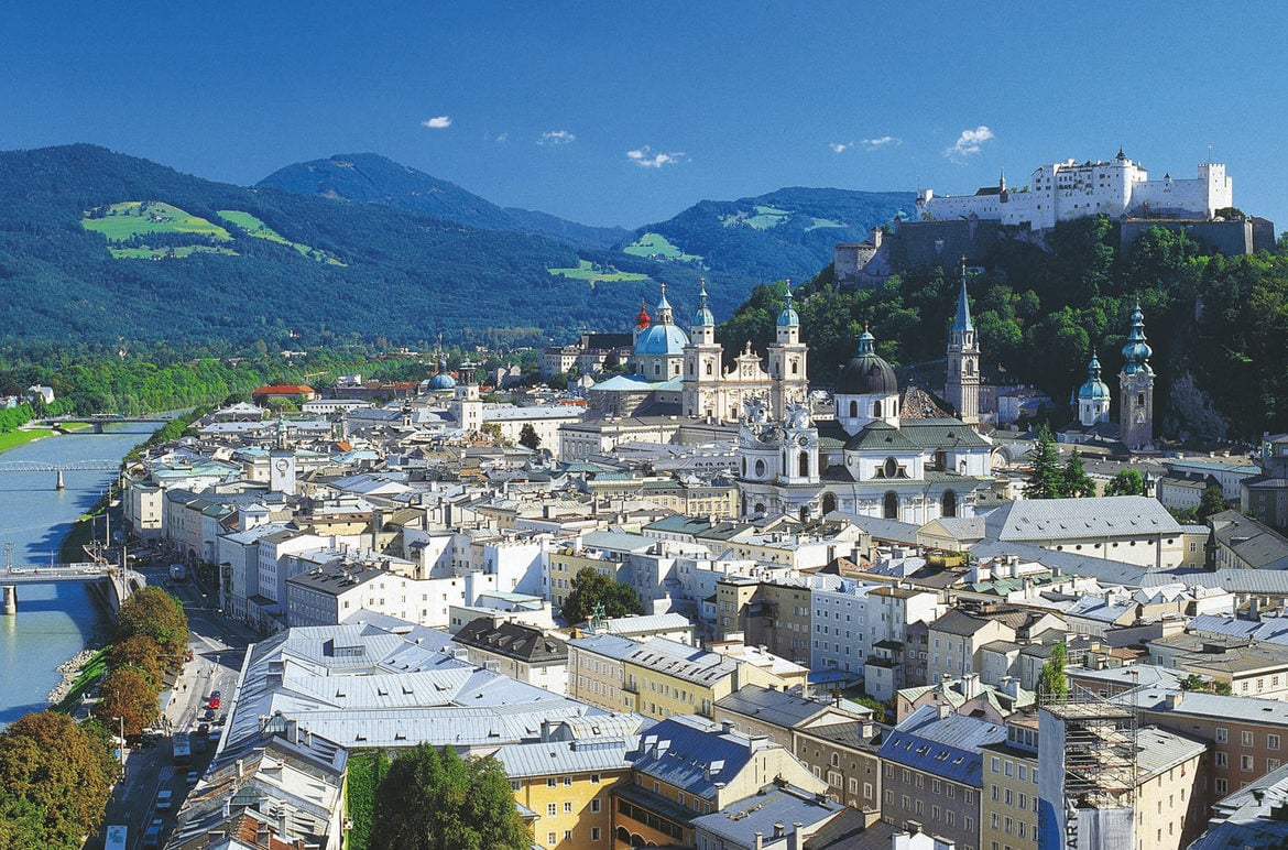Visit the Top Sightseeing Destinations in Salzburg's Old Town