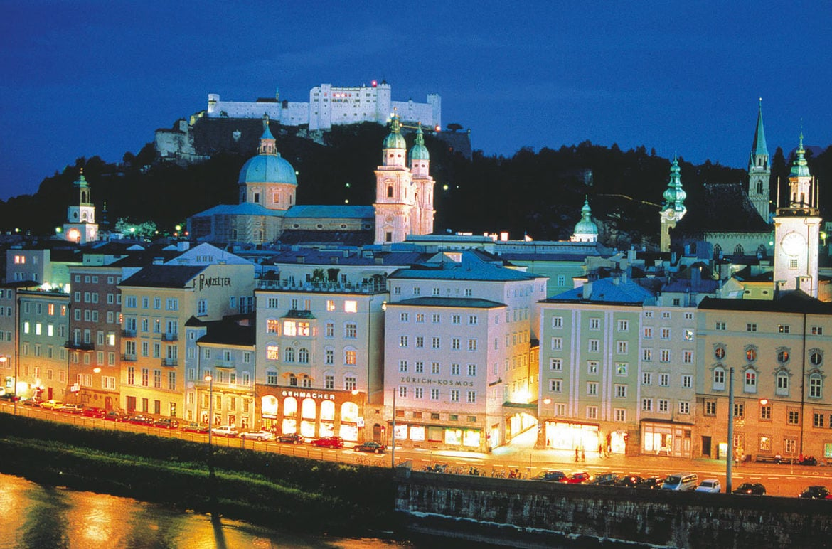 Day trips to the Festival City of Salzburg